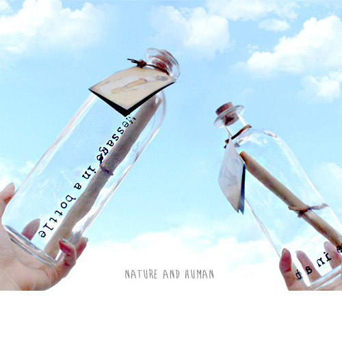 [message in bottle(L)]